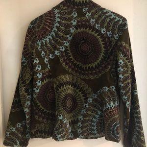 Vintage Style Stunning Peacock Jacket!!